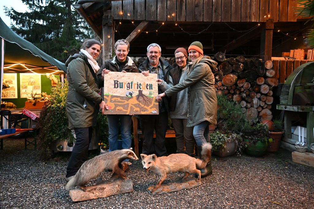 Jagervereinigung Lorrach Unser Aktives Team Von Lernort Natur